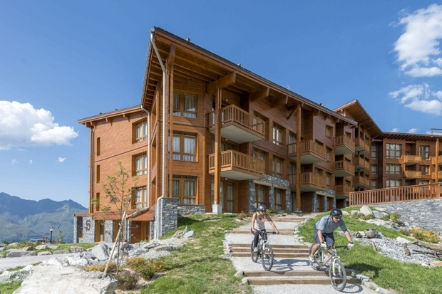 A holiday home with peloton power